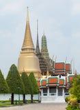 盛大宫殿在曼谷,泰国 免版税库存图片