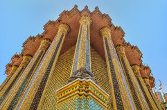 盛大宫殿,曼谷玉佛寺,曼谷,泰国 图库摄影