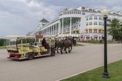盛大旅馆Mackinac海岛密执安 库存图片