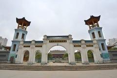 盛大清真寺在西宁(东莞) 库存图片