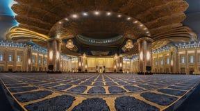 盛大清真寺的granduity 免版税库存图片