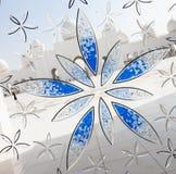 盛大清真寺装饰物窗口 免版税图库摄影