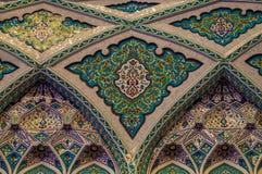 盛大清真寺-马斯喀特-阿曼 免版税库存图片