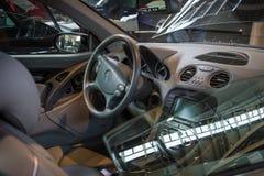 盛大游览车汽车奔驰车SL AMG 65 (R230)客舱, 2009年 库存照片