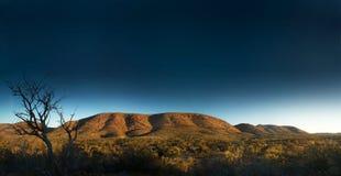 盛大澳洲内地风景 免版税库存照片