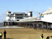 盛大码头,威斯顿超级母马。 图库摄影