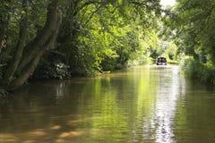 盛大联合运河,莱斯特郡 库存图片