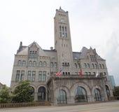 盛大联合驻地最初108旅馆,纳稀威田纳西 库存照片