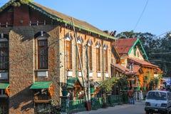 盛大莫里斯旅馆,卡绍利,喜马偕尔邦,印度 免版税库存图片