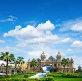 盛大赌博娱乐场在蒙地卡罗,摩纳哥。法国海滨 免版税库存照片