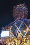 盛大赌博娱乐场里斯本在澳门,中国 库存图片