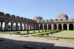 盛大雅米Masjid, Mandu 免版税库存图片