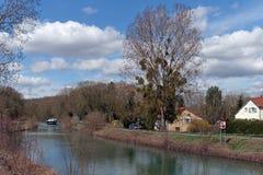盛大Morin运河 库存图片