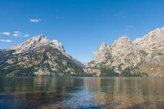 盛大Teton和Mt圣约翰 免版税库存图片