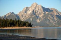 盛大Teton国家公园,怀俄明,美国 免版税库存图片