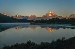 盛大Tetons和Yellostone国家公园 免版税图库摄影