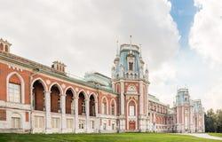 盛大Tsaritsyno宫殿 免版税库存照片