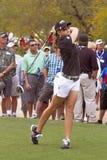盛奶油小壶高尔夫球运动员lpga paula妇女的 免版税库存照片