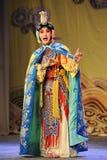 盛装是妇女:对我的姘妇的北京歌剧告别 图库摄影
