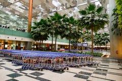 目前,机场有三个操作的终端 免版税图库摄影