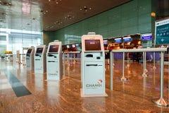 目前,机场有三个操作的终端 库存照片