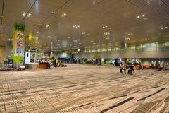 目前,机场有三个操作的终端 库存图片