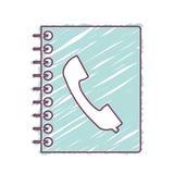 目录笔记本象 库存例证