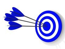 目标。 成功概念 免版税库存照片