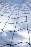 目标净足球 图库摄影