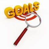 目标或目标 库存例证
