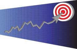 目标贸易 向量例证