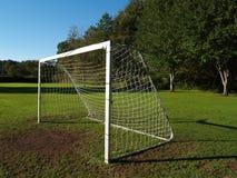 目标足球 库存图片