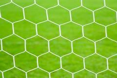 目标足球 免版税库存照片