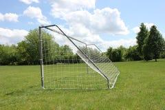 目标足球 免版税库存图片