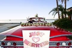 目的地热带婚礼 免版税图库摄影