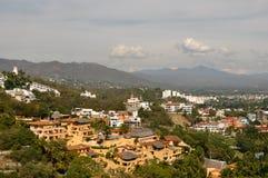目的地manzanillo墨西哥游人 库存图片