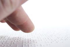 盲人识字系统 免版税库存图片