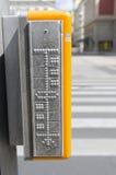 盲人识字系统标志 免版税库存照片