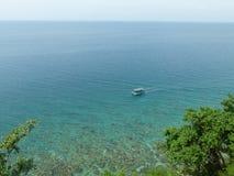 直到无限的大蓝色,菲律宾 免版税图库摄影