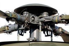 直升机主转翼 免版税库存图片
