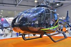 直升机产业HeliRussia的第11国际陈列2018年 免版税库存照片