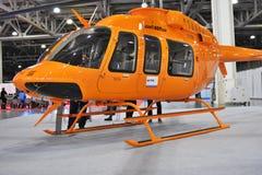直升机产业HeliRussia的第11国际陈列2018年 库存图片