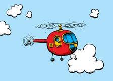 直升机例证 库存例证