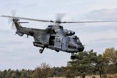 1直升机军事占领抢救 库存图片