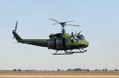 直升机军事老 免版税库存照片