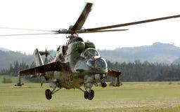 直升机军人 库存图片