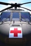 直升机医疗军人 免版税库存图片