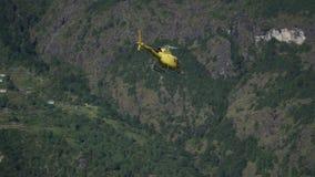 直升机在喜马拉雅山 股票录像