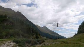 直升机山 影视素材