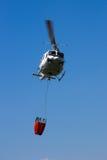 直升机空中消防 库存照片